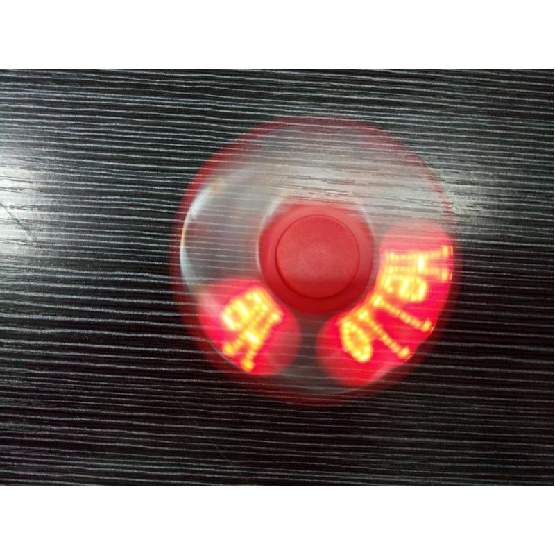 Oplichtende fidget spinner