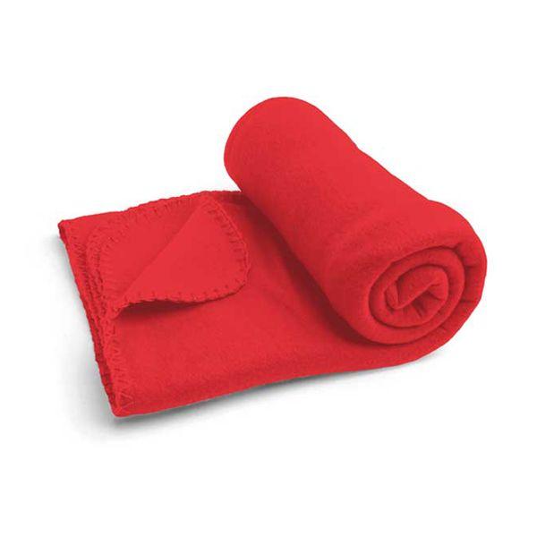 Fleece deken in leuke kleuren