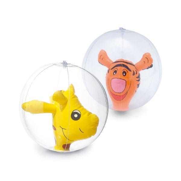 Opblaasbare bal met giraf, dolfijn of tijger