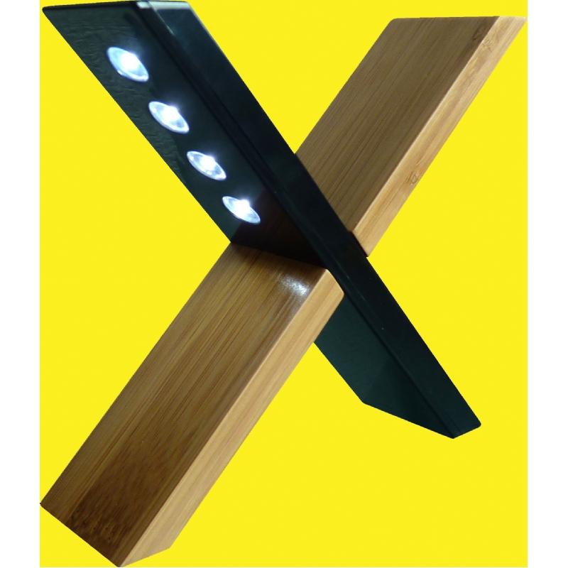 bamboe zonne-energie design licht