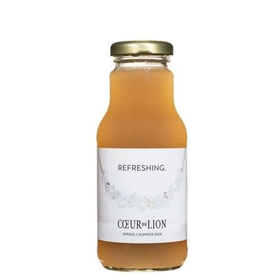 Flesje appelsap met eigen etiket