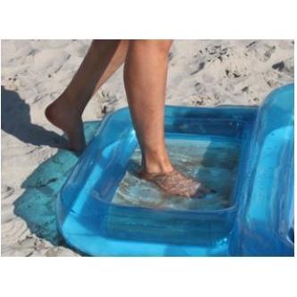 De bescherming tegen zandkorrels