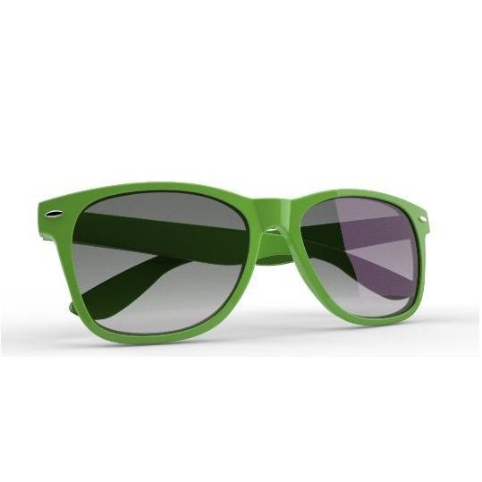 Hippe zonnebril in  vele kleuren