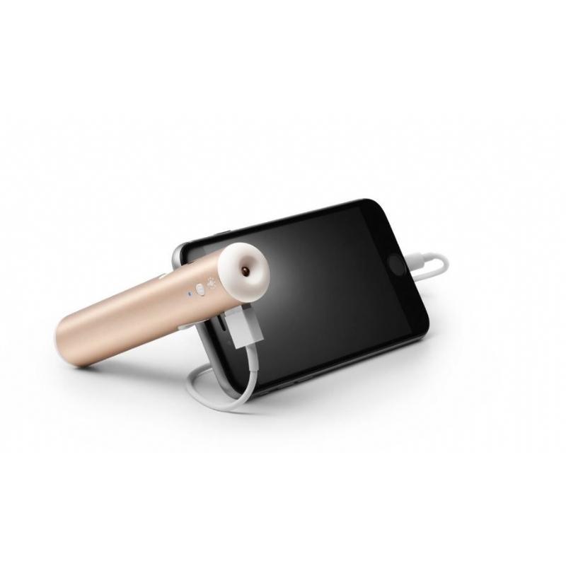 Noodbatterij en gsmhouder in eigen pantone kleur