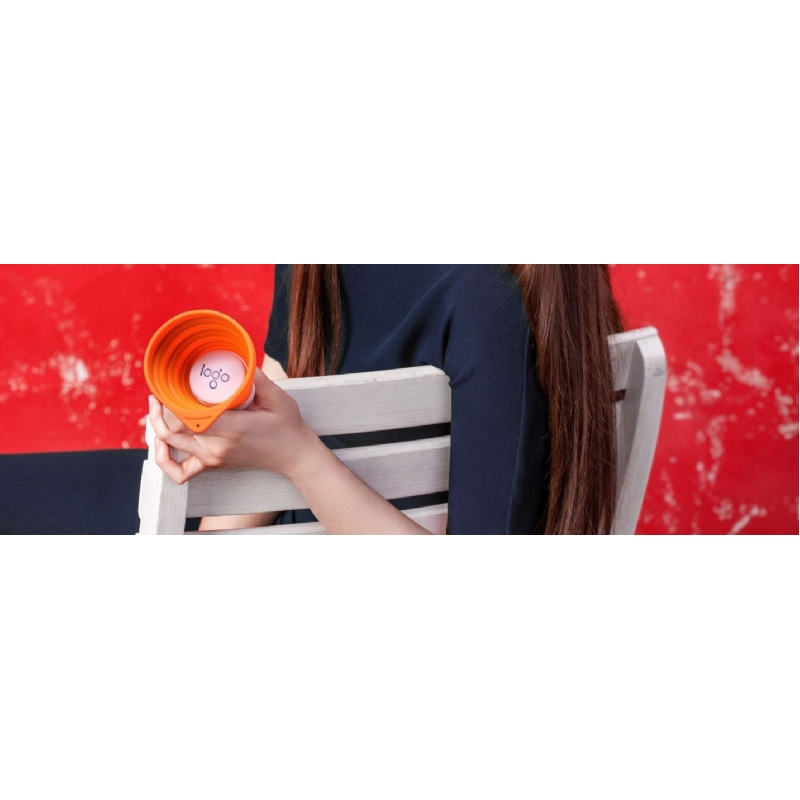 Opvouwbare siliconen speaker