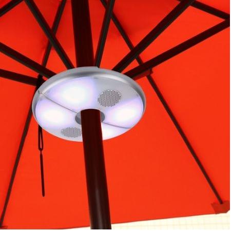 Speaker voor parasol