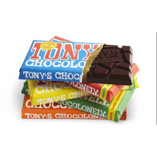 Tony's Chocolonely chocoladerepen