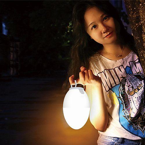 Eiervormige waterdichte lamp