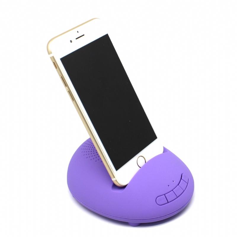 Bluetooth speaker en telefoonhouder in 1