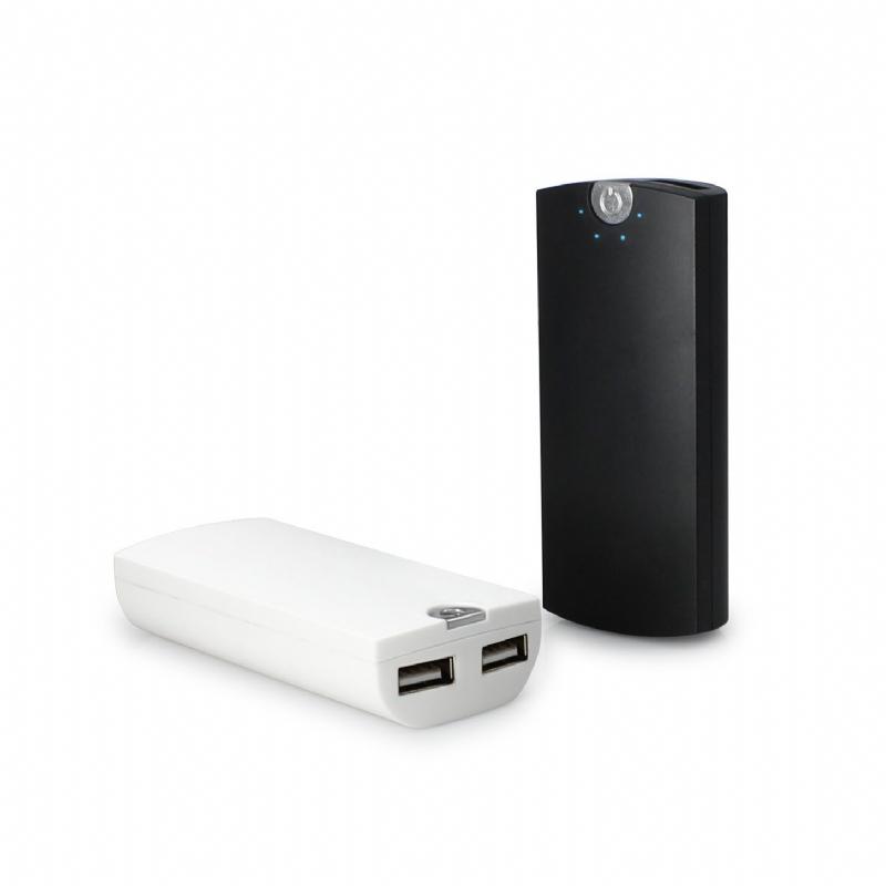 Powerbank met 2 USB uitgangen