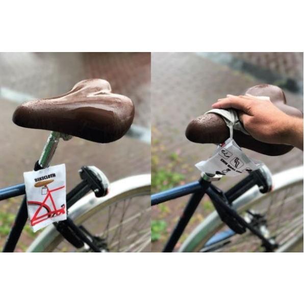 nooit meer met natte broek op de fiets
