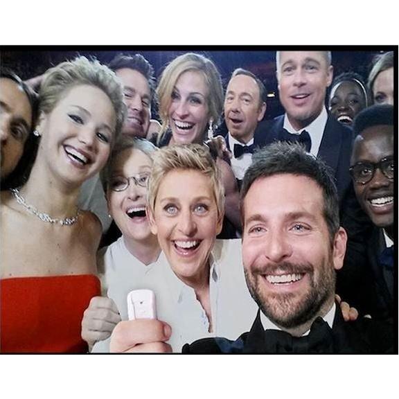 zo werd beroemdste Selfi ter wereld gemaakt