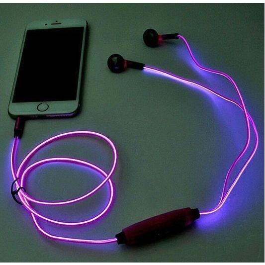 LED oortjes met microfoon
