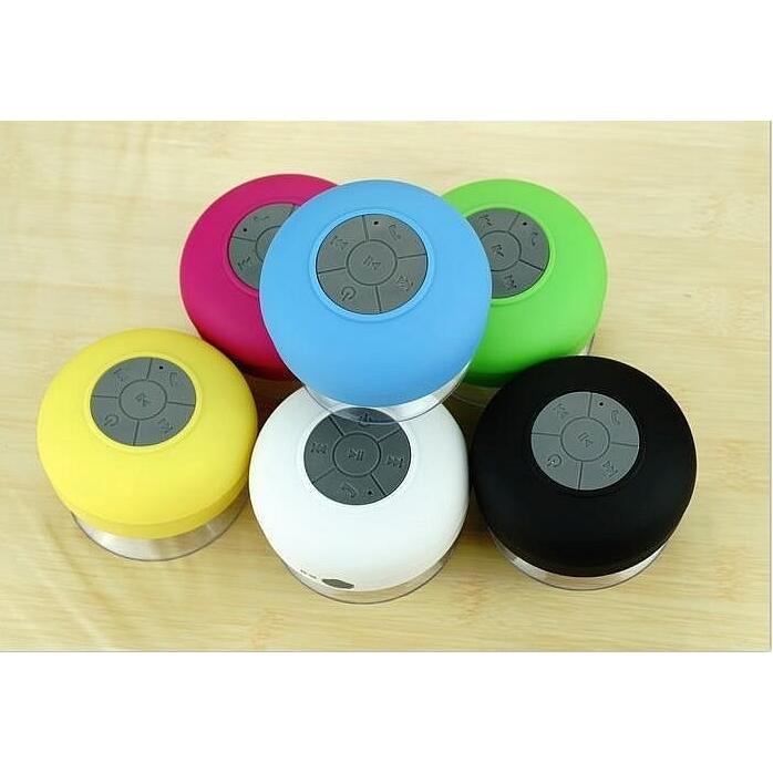 Ronde waterdichte bluetooth speaker
