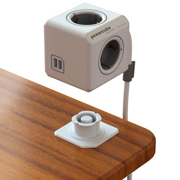 PowerCube Reisstekker- / verlengdoos