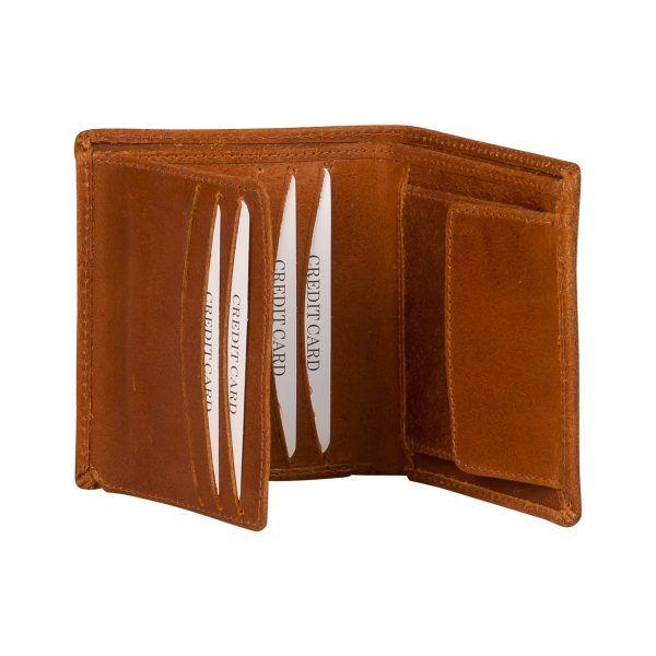 Luxe leren portefeuille