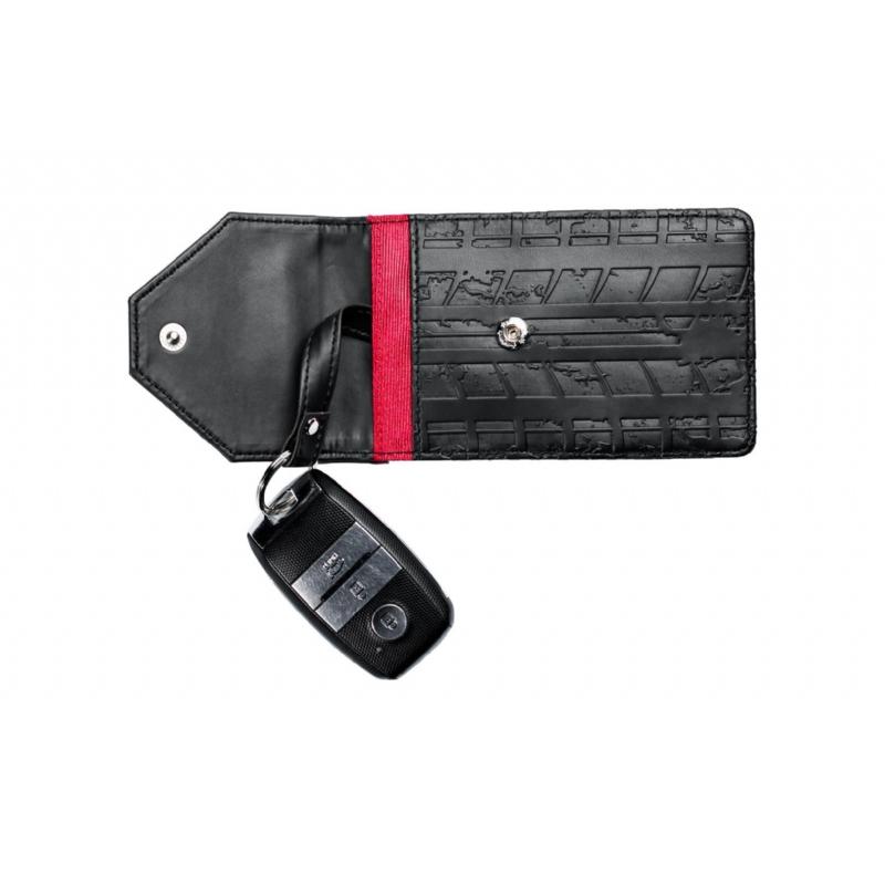 Tasje met beveiliging voor autosleutel