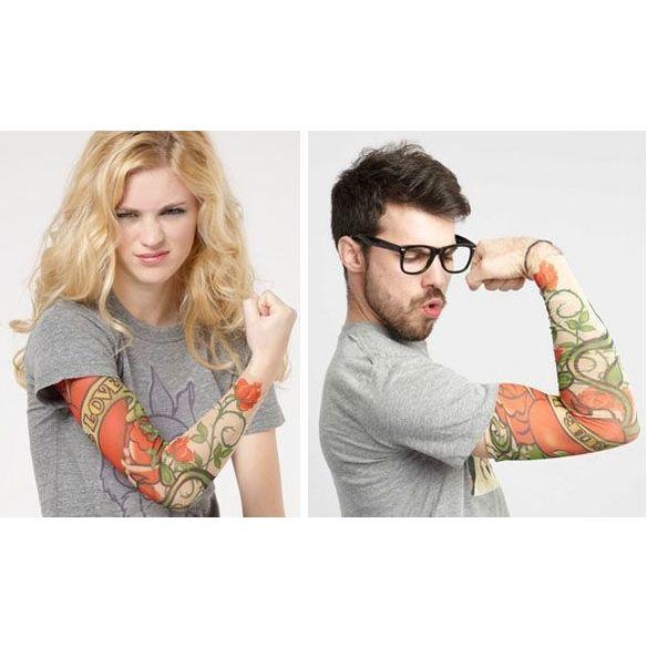 Tattoo sleeve; nep tatoeages!