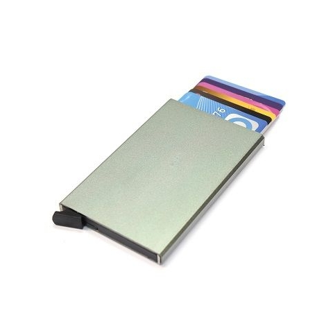 Figuretta aluminium RFID card protector