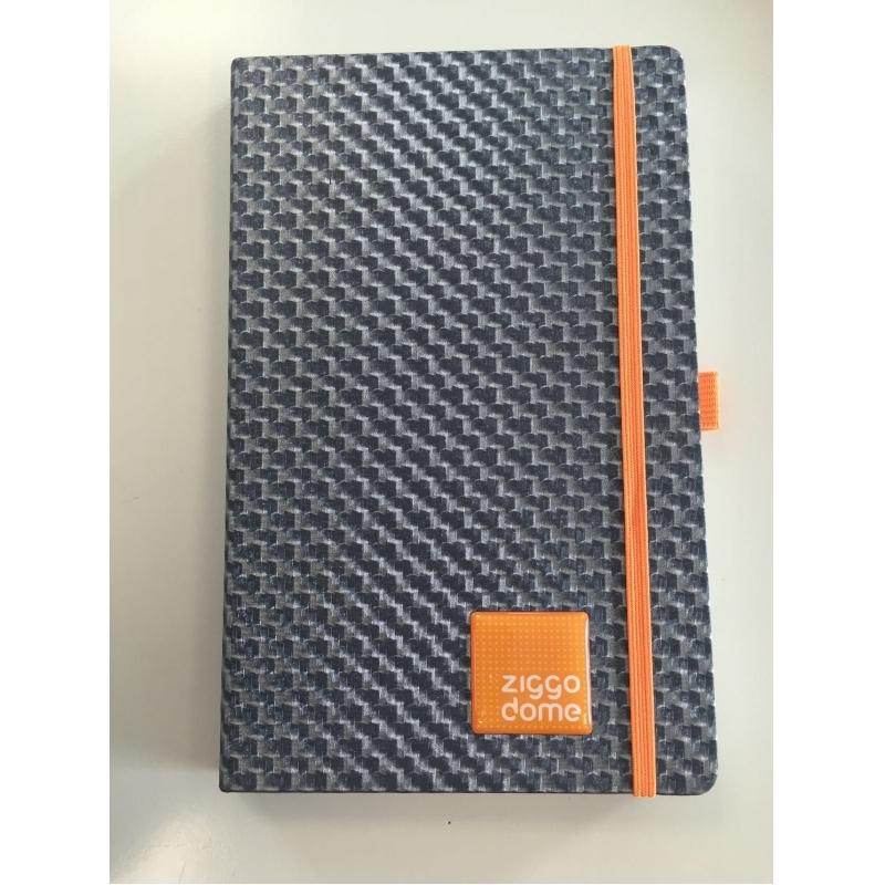 Notitieboek met verschillende mogelijkheden