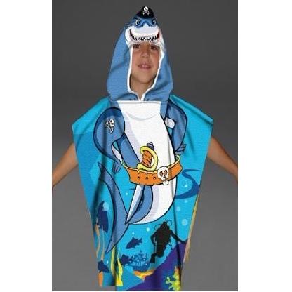 Poncho handdoek voor kinderen