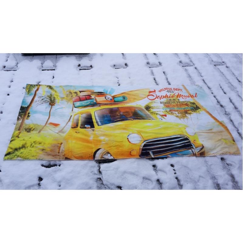 Fullcolour bedrukte handdoek