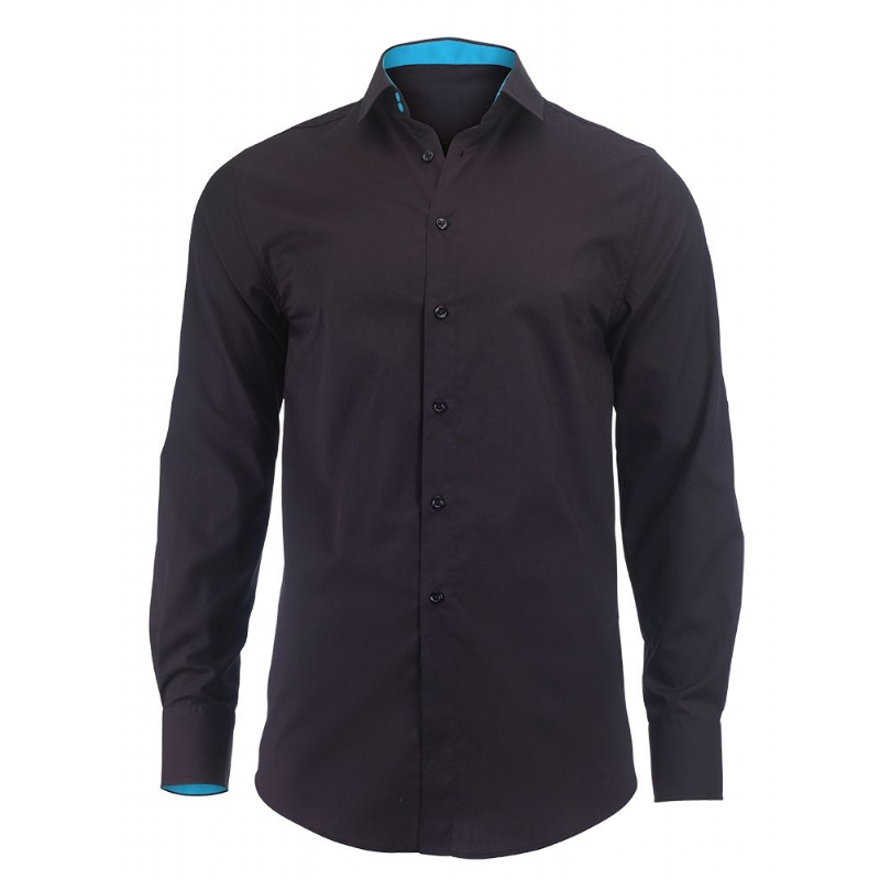 Overhemd met contrastkleur