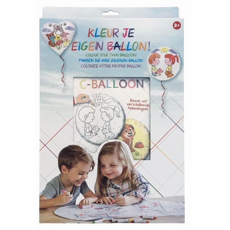 Kleur je eigen ballon in