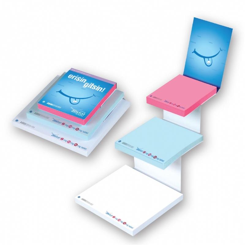 Sticky Note Pads met 3 elementen