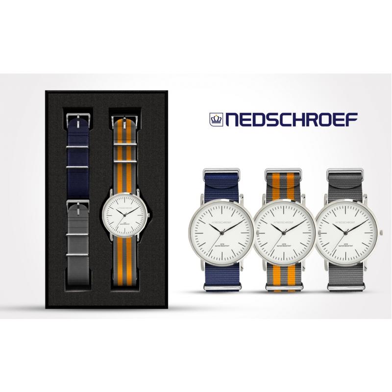 Horlogeset met 1 of 2 extra bandjes