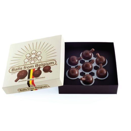 Belgische Atomium chocolade ballen