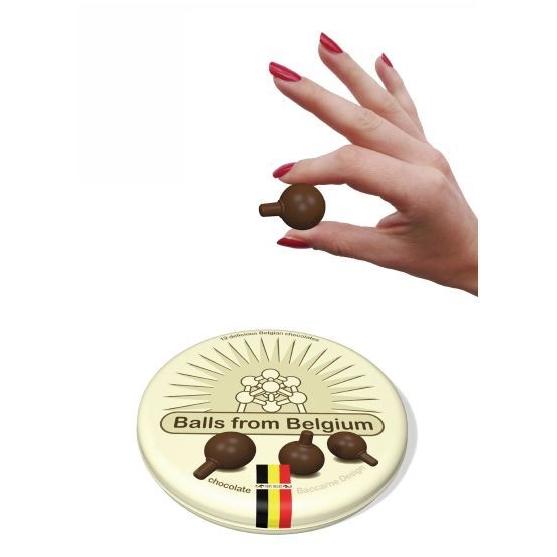 chocolade Atomium ballen