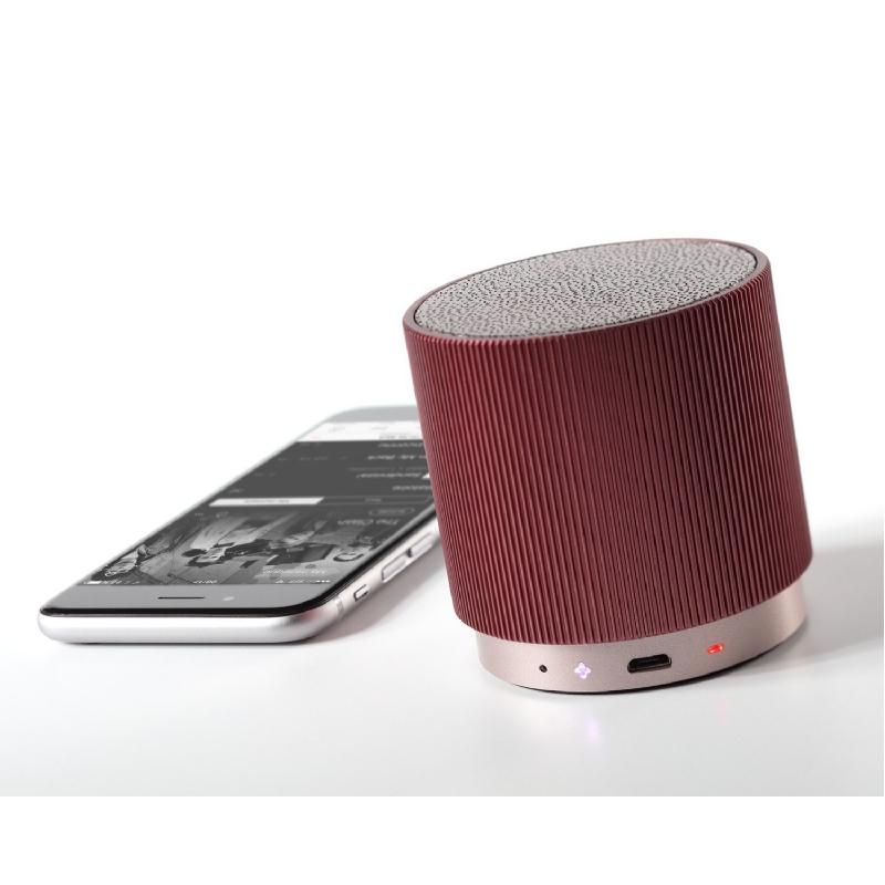 Stijlvolle, herlaadbare bluetooth speaker