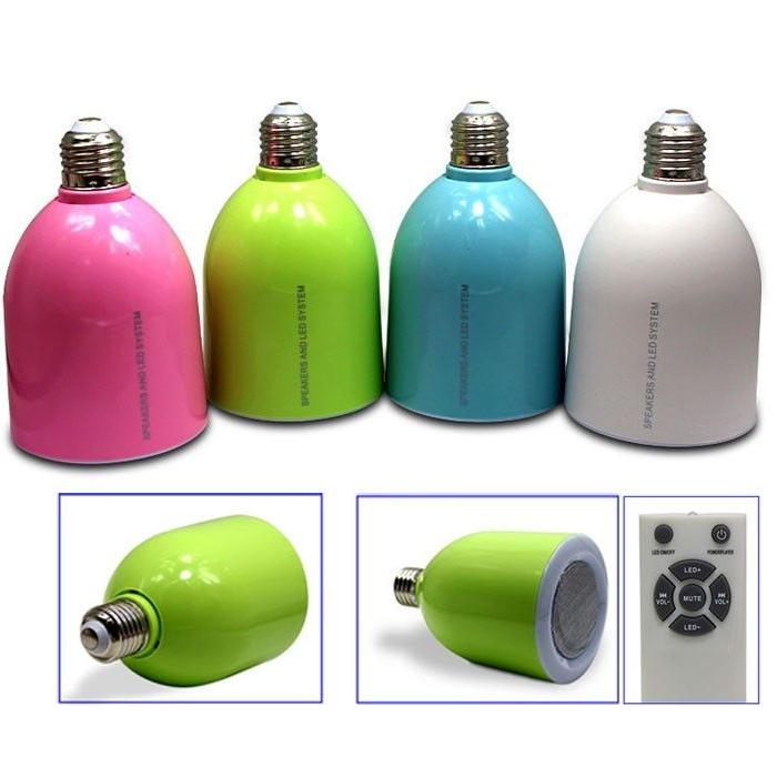LED Lamp met Bluetooth Speaker