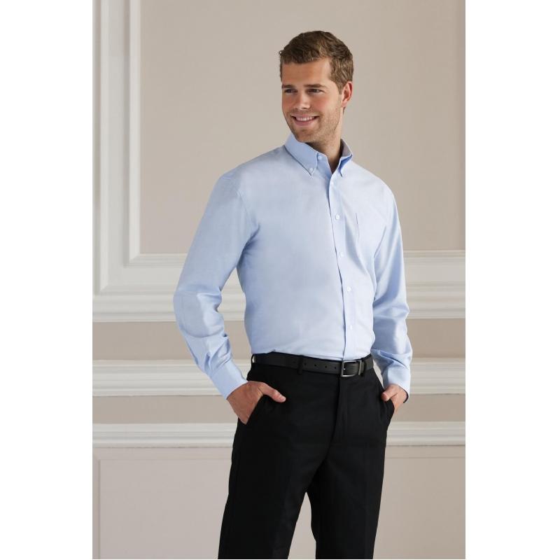 Oxford hemd met lange mouwen