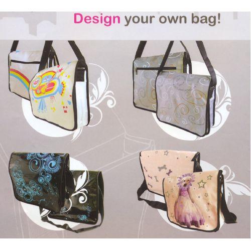 City bag met full colour opdruk