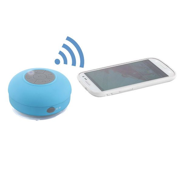 Waterdichte Bluetooth speaker met zuignap