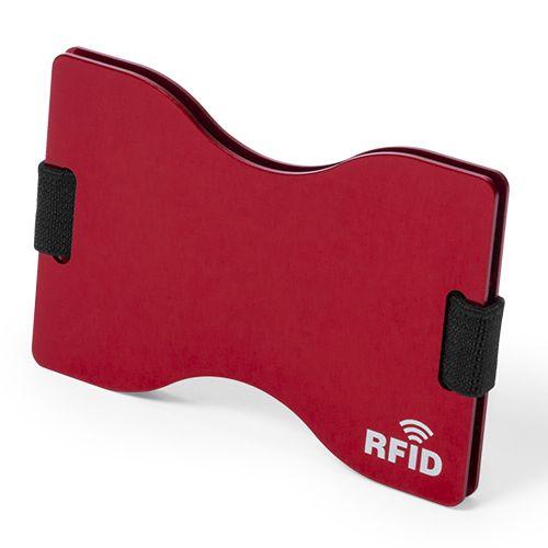 Aluminium pashouder met RFID bescherming