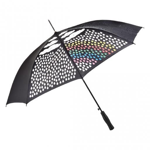Paraplu die reageert op de regen