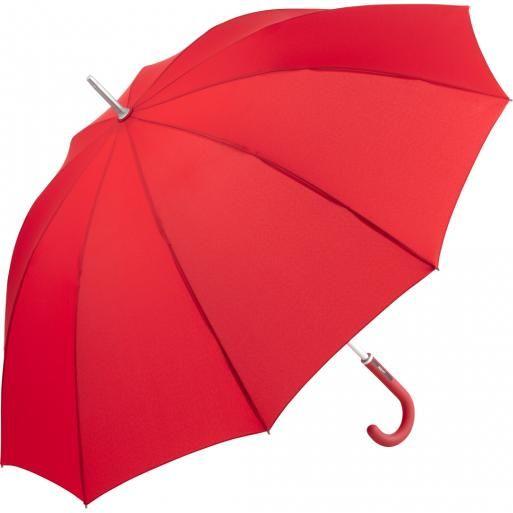 Paraplu met assorti gekleurd handvat