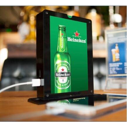 Powerbank/display voor HORECA
