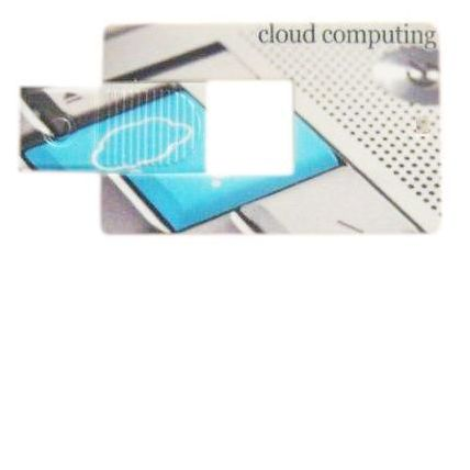 Mini kredietkaart USB stick