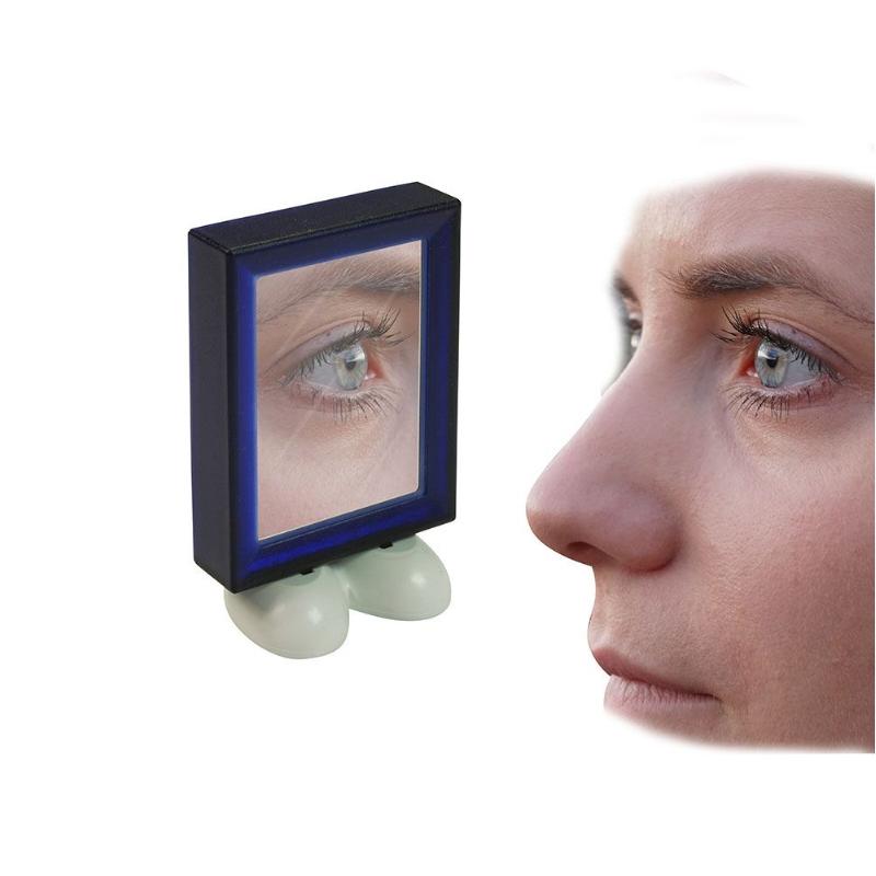 Flesopener met spiegel