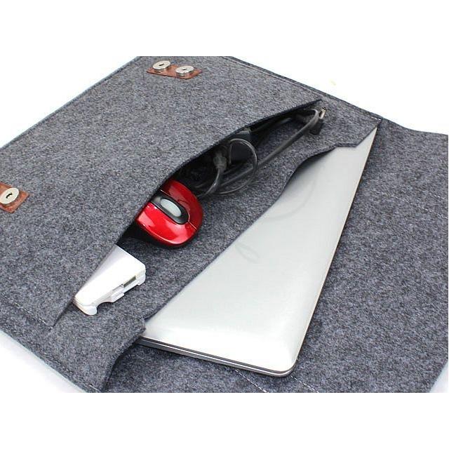 15,4 inch vilten laptop tas