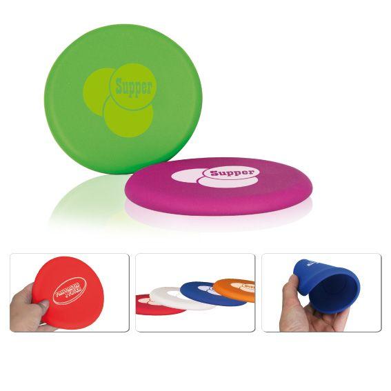Siliconen frisbee