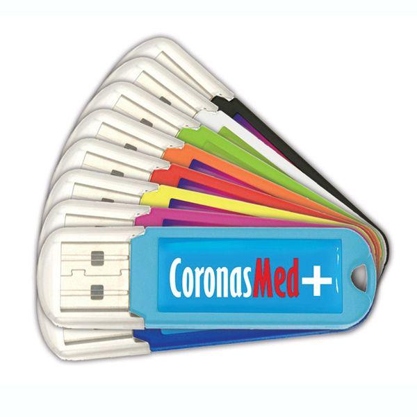 Full Color bedrukte USB Stick