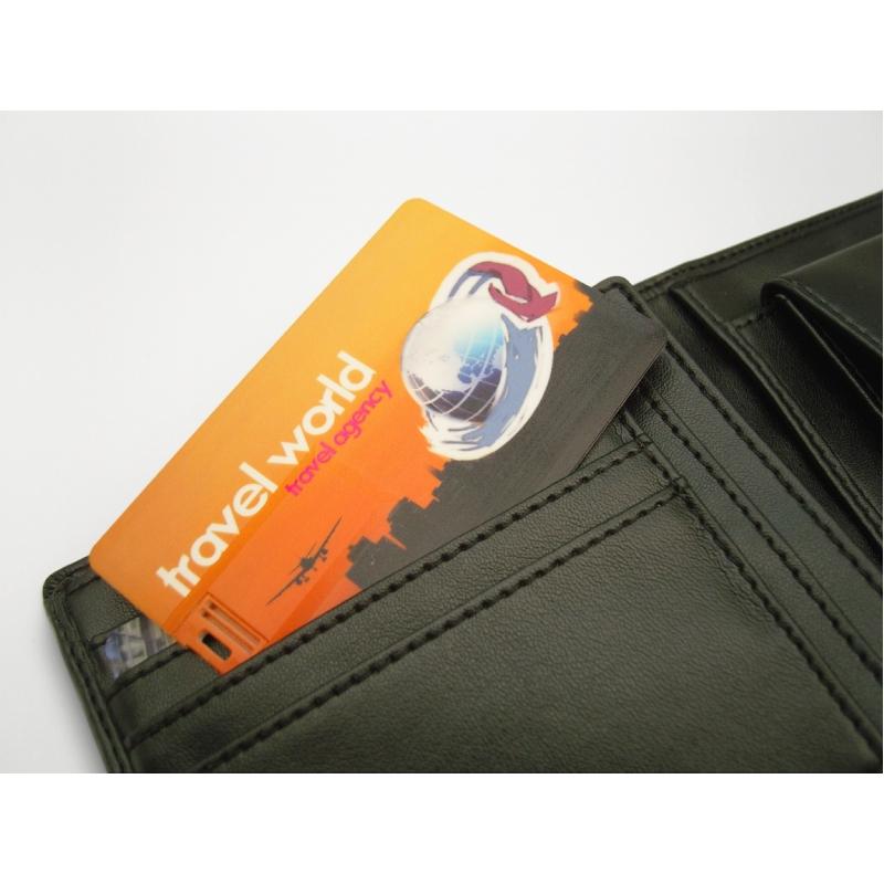 Handige usb stick in kredietkaartformaat