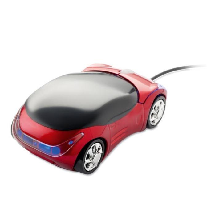computermuis in de vorm van een auto