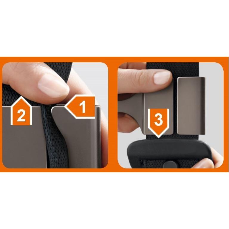 Handig hulpstuk voor je autogordel