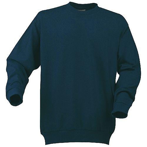 PRINTER sweater met ronde kraag